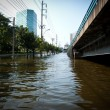 Stock Photo: Bangkok worst flood in 2011