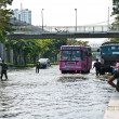Bangkok worst flood in 2011 — Stock Photo #8966279