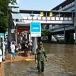 Bangkok worst flood in 2011 — Stock Photo #8966364