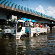 Bangkok worst flood in 2011 — Foto de stock #8967374