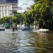 Bangkok worst flood in 2011 — Foto Stock