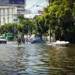 Bangkok worst flood in 2011 — Foto de Stock