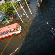 Bangkok worst flood in 2011 — Stock Photo #8967624