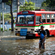 Bangkok worst flood in 2011 — Stock Photo #8967753