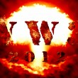 World war 3 nuclear background — Stock Photo #9054027