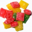 Stock Photo: Multicolored candies without wrapper