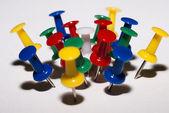 Pulsanti multicolori — Foto Stock