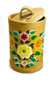 Tuesok caixa de casca de bétula — Foto Stock