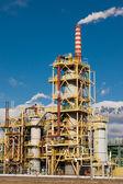 Fábrica de produtos químicos de nitrogênio na polónia — Foto Stock