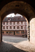 Old city in Nurenberg, Germany — Stock Photo