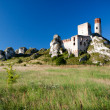Old castle ruins near czestochowa — Stock Photo