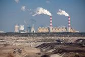 Surface coal mining — Stock Photo