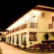 Hotel at  night — Stock Photo