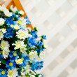 Decoration artificial flower — Stock Photo