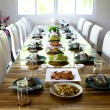 Stock Photo: Table set service