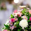 Rose flower on the wedding — Stock Photo #10462579