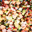 Colorful sprinkles for cake decoration or ice cream topping — Stock Photo