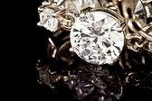 Diamonds bracelet — Stock Photo