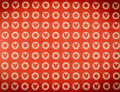 Pattern hearts paper texture — Stock Photo