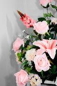 Decoration artificial flower — Stock Photo