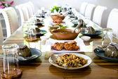 Table set service — Stock Photo