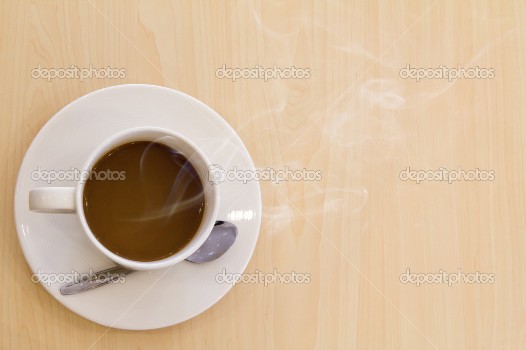 Cup of hot drink coffee  Stock Photo #10466867