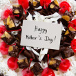 Mother's day cake — Stok fotoğraf