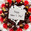 Stock Photo: Mother's day cake