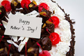 Mother's day cake — Stock Photo