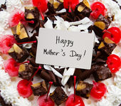 Mother's day cake — Stockfoto