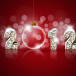 New year 2011 background with back light and place for your text — Stock Photo #10611376