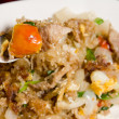 Stir-fried vermicelli — Stock Photo