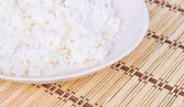 White steamed rice — Stock Photo