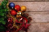 Beautiful christmas decorations — Stock Photo