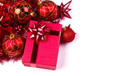 Christmas Gift isolated on white background — Stock Photo