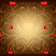 Valentine's day background — Imagen vectorial
