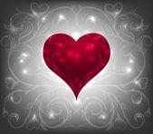Valentine tag hintergrund — Stockvektor