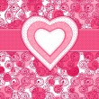 Valentine day background — Imagen vectorial