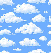 Nubes — Vector de stock