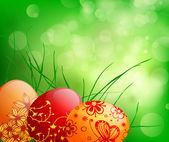 Easter eggs — Stockvektor
