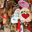 Collection of wish cards for Valentine's day — Stok fotoğraf