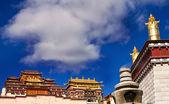 Photo of Ganden Sumtseling Monastery in Yunnan Province China — Stock Photo