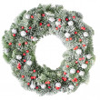 Christmas wreath — Stock Photo #8337977