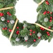 Christmas wreath — Stock Photo #8337985