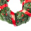 Christmas wreath — Stock Photo #8337991