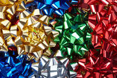 Gift bows background — Stock Photo