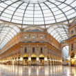 Milan, Vittorio Emanuele II gallery, Italy — Stock Photo #9064620