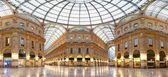 Milan, Vittorio Emanuele II gallery, Italy — Stock Photo
