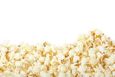 Popcorn border — Stock Photo