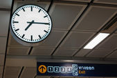 Time in station — Stock Photo